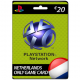 Playstation Network Card 20 euro NL